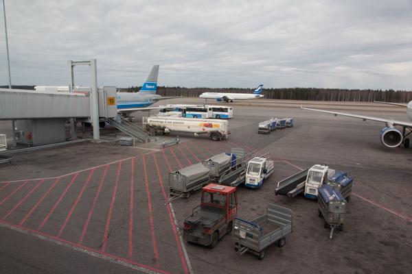 Gerade noch zu sehen: Finnair Silverbird