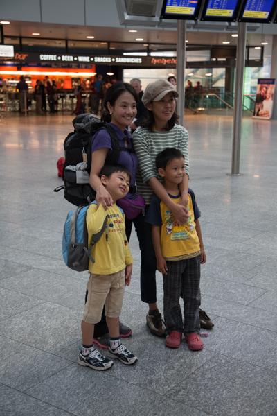 Hiromi, Miki und ihre Söhne