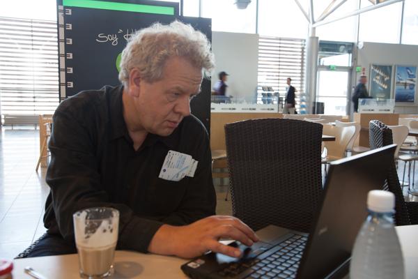 Zeitvertreib mit W-LAN in Helsinki