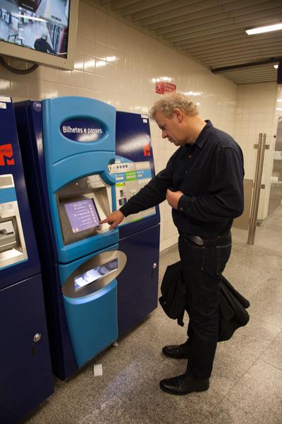 Der Kampf mit dem Billetautomaten: gemeistert