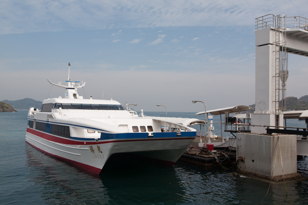 Schnellboot nach Hiroshima (1h statt 3,5h)